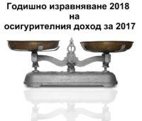 годишно изравняване 2018